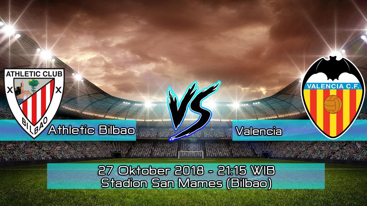 Prediksi Skor Pertandingan Athletic Bilbao vs Valencia 27 Oktober 2018