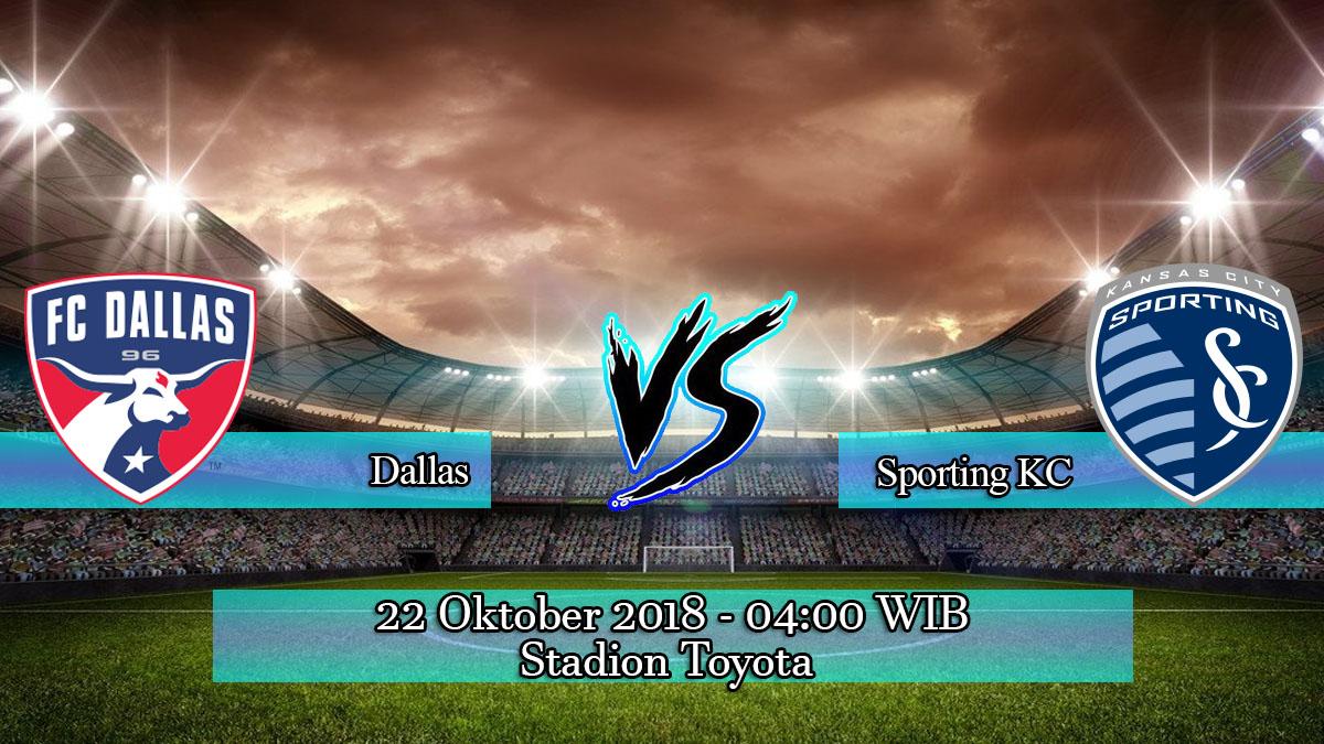Prediksi Skor Pertandingan Dallas Vs Sporting KC 22 Oktober 2018