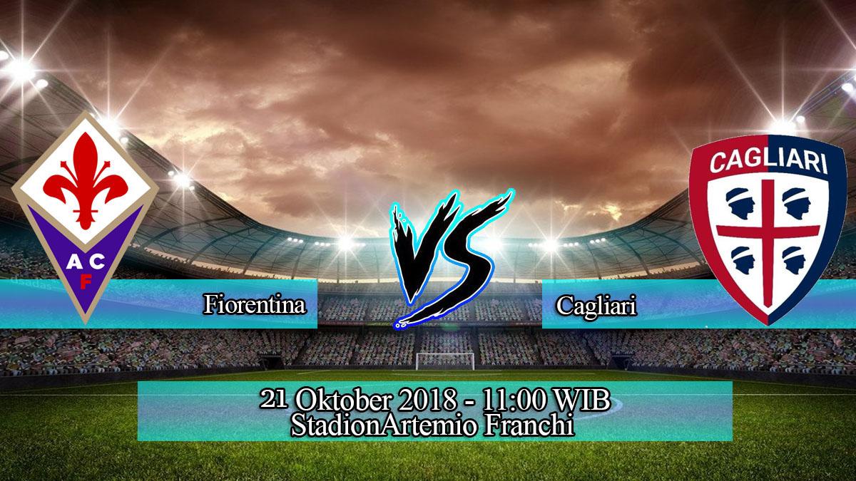 Prediksi Skor Pertandingan Fiorentina vs Cagliari 21 Oktober 2018