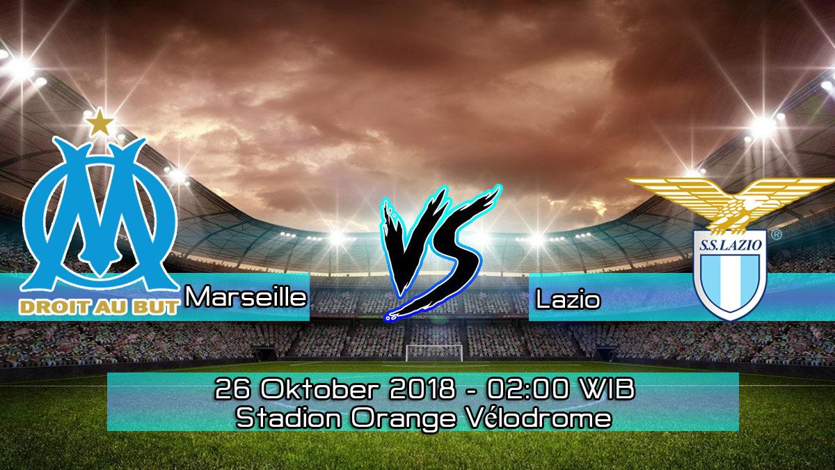 Prediksi Skor Pertandingan Olympique Marseille vs Lazio 26 Oktober 2018