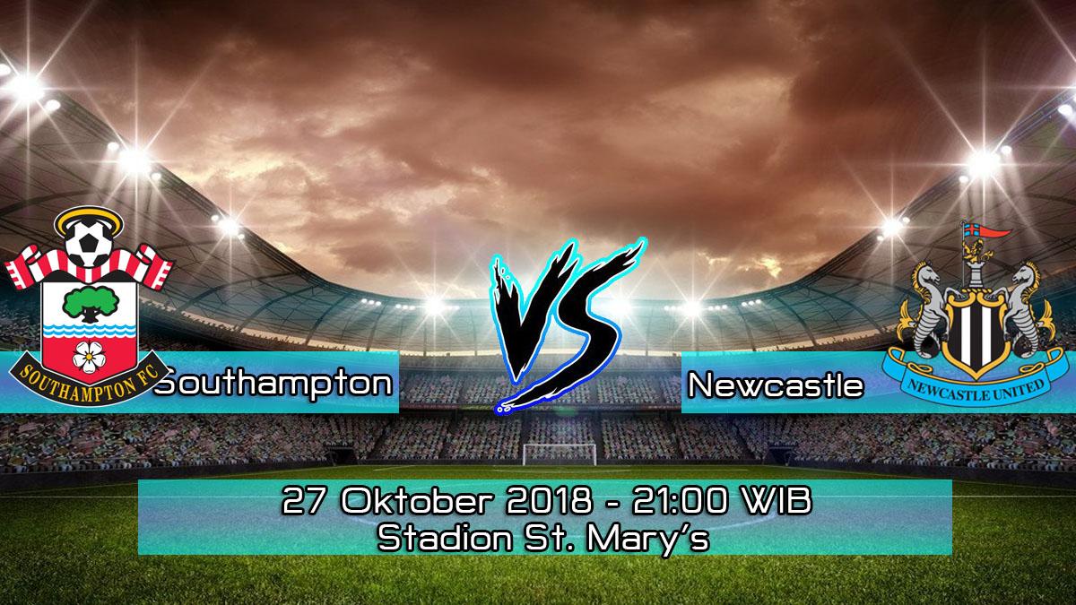 Prediksi Skor Pertandingan Southampton vs Newcastle United 27 Oktober 2018
