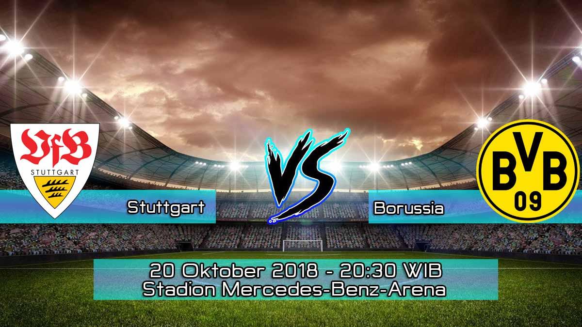 Prediksi Skor Pertandingan Stuttgart VS Borussia Dortmund 20 Oktober 2018