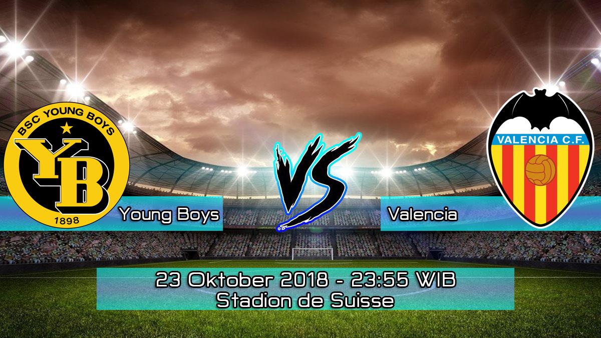 Prediksi Skor Pertandingan Young Boys vs Valencia 23 Oktober 2018
