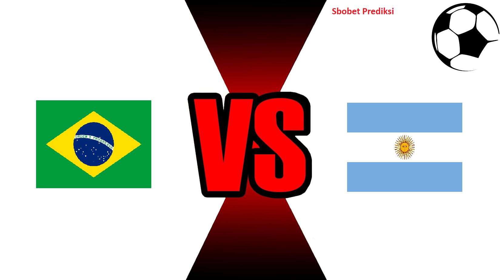 Prediksi Skor Pertandingan Brazil Vs Argentina 17 Oktober 2018