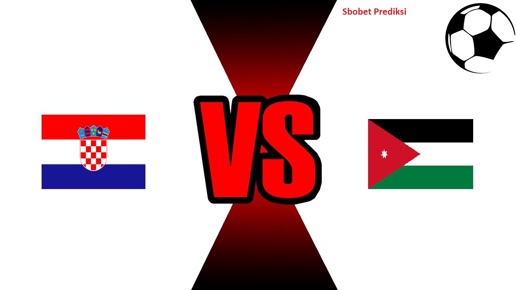 Prediksi Skor Pertandingan Kroasia Vs Jordan 16 Oktober 2018