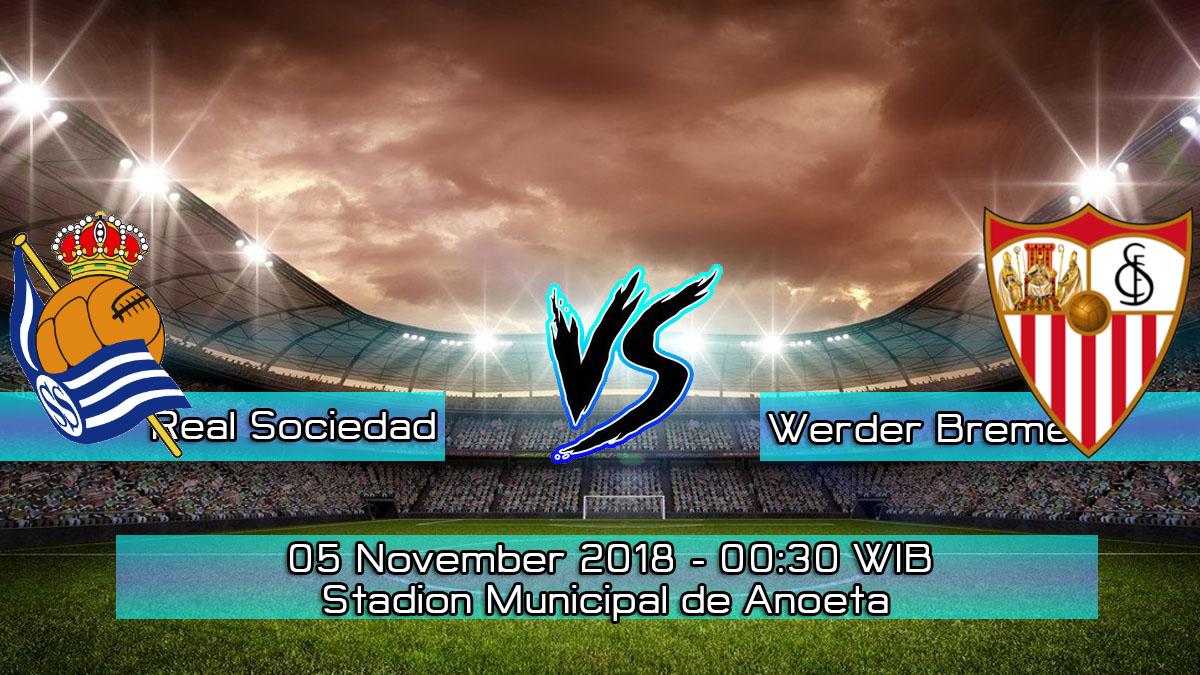 Prediksi Skor Pertandingan Real Sociedad Vs Sevilla 5 November 2018