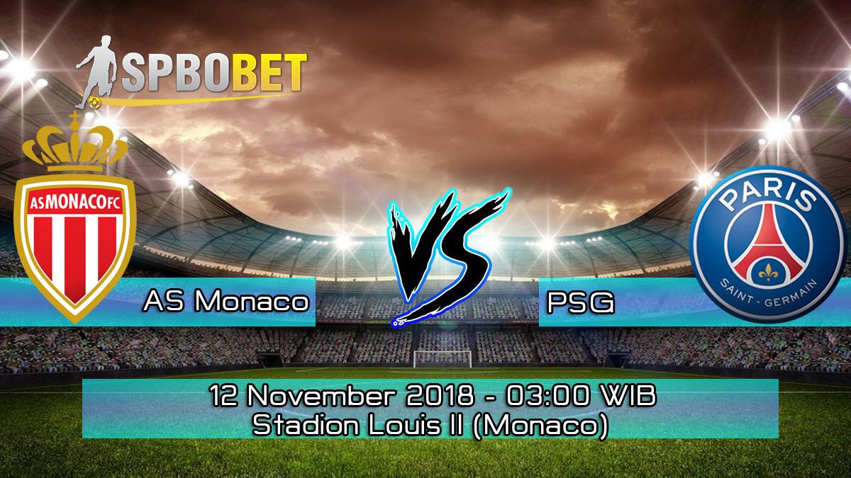 Prediksi Skor Pertandingan AS Monaco vs PSG 12 November 2018