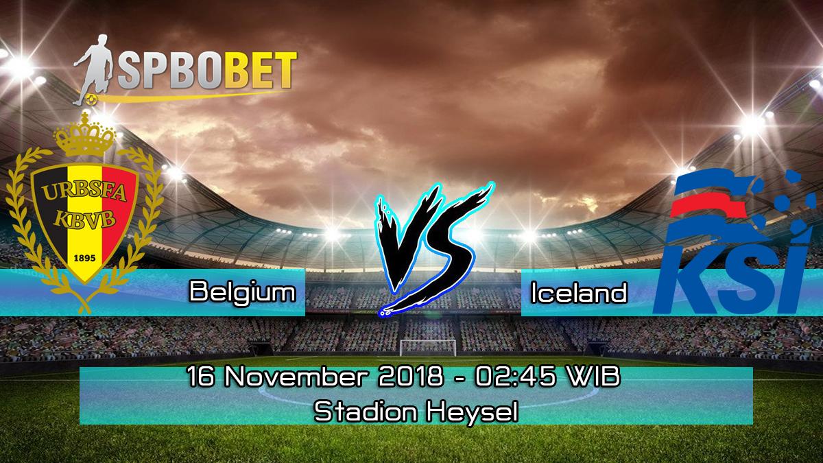 Prediksi Skor Pertandingan Belgium vs Iceland 16 November 2018