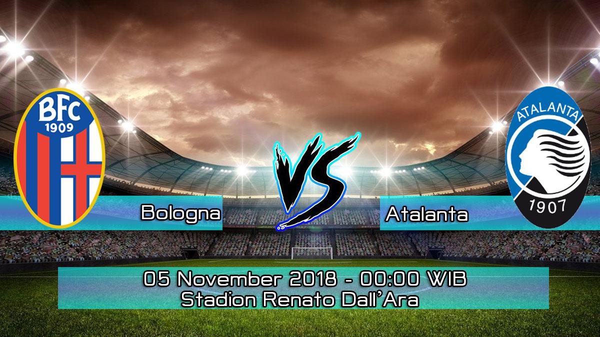 Prediksi Skor Pertandingan Bologna vs Atalanta 5 November 2018