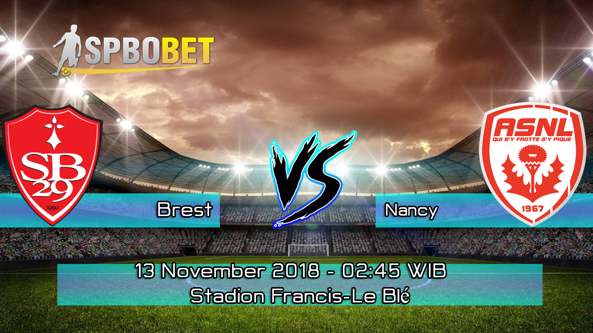 Prediksi Skor Pertandingan Brest Vs Nancy 13 November 2018