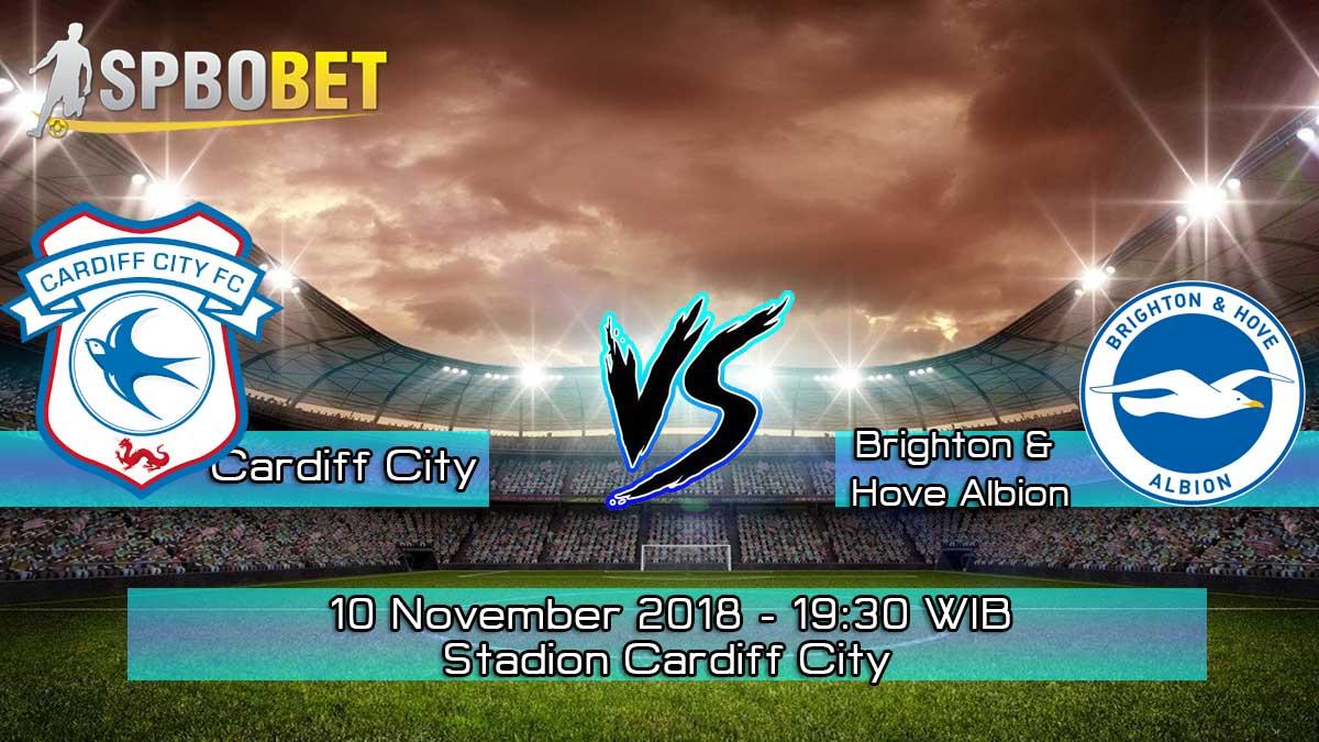 Prediksi Skor Pertandingan Cardiff City vs Brighton & Hove Albion 10 November 2018