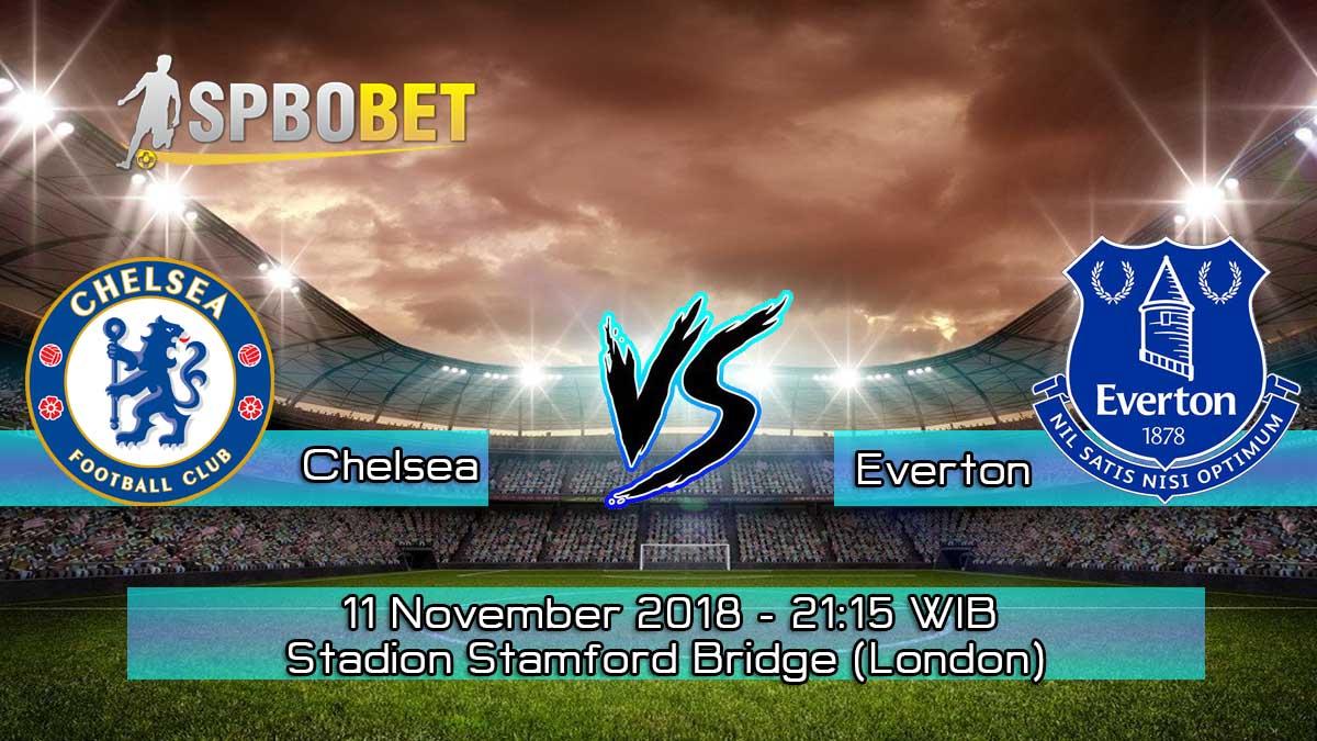 Prediksi Skor Pertandingan Chelsea vs Everton 11 November 2018