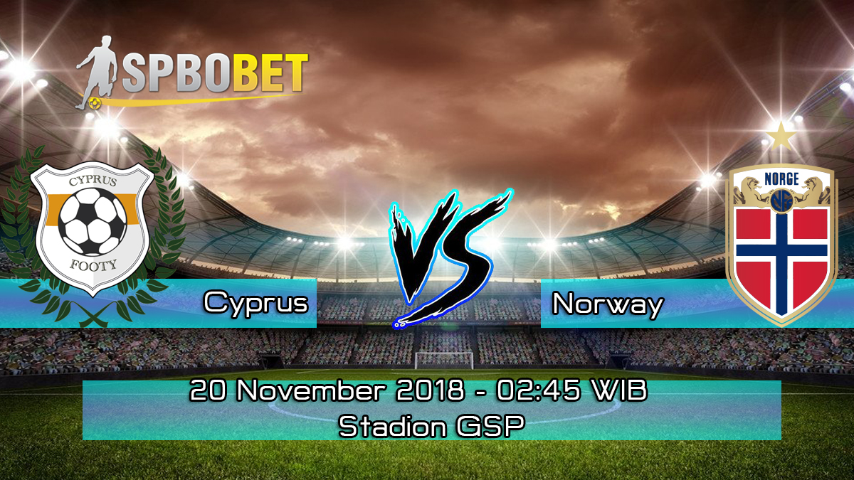 Prediksi Skor Pertandingan Cyprus vs Norway 20 November 2018