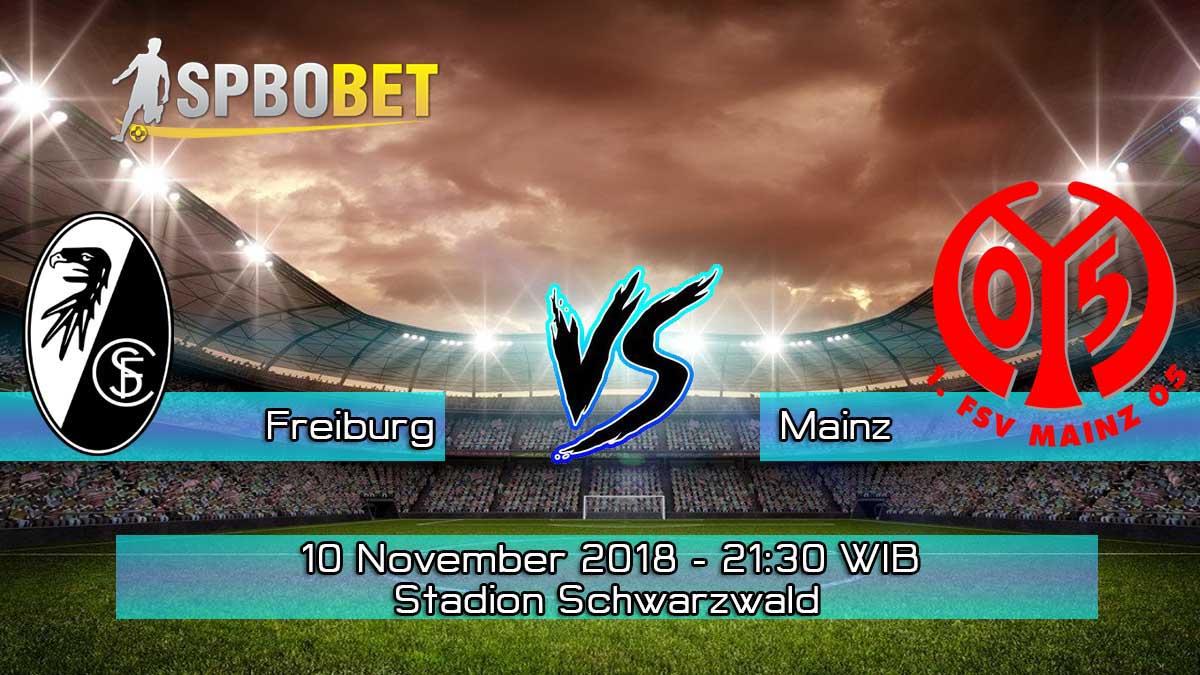 Prediksi Skor Pertandingan Freiburg vs Mainz 10 November 2018