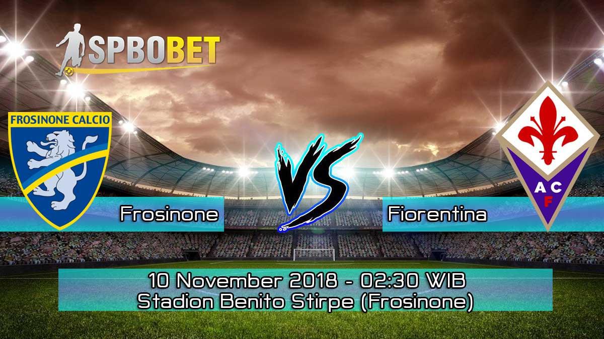Prediksi Skor Pertandingan Frosinone vs Fiorentina 10 November 2018