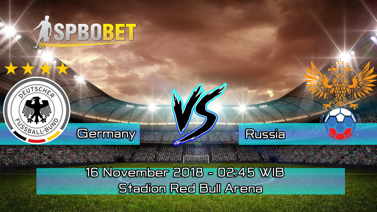 Prediksi Skor Pertandingan Germany vs Russia 16 November 2018