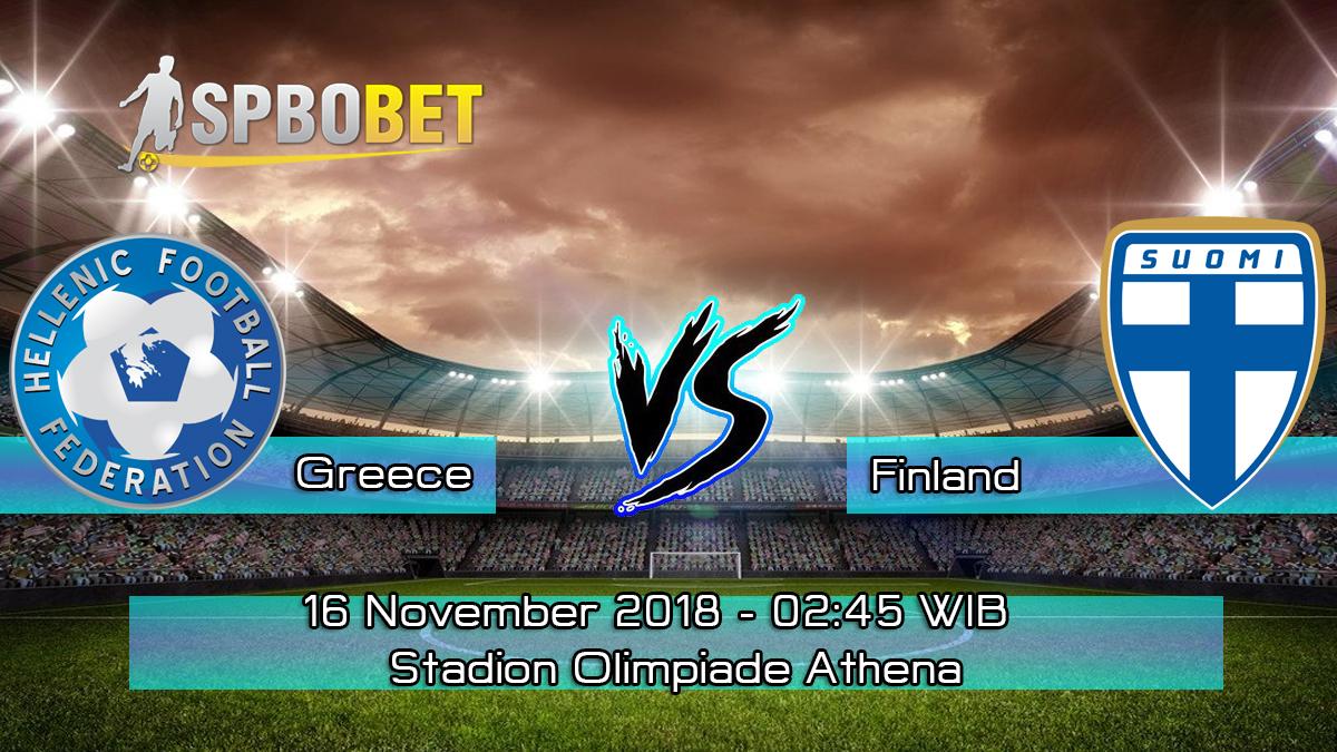 Prediksi Skor Pertandingan Greece vs Finland 16 November 2018