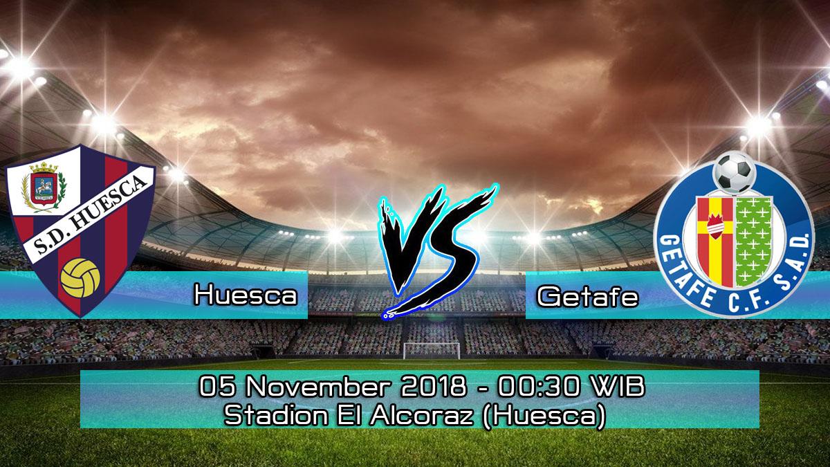 Prediksi Skor Pertandingan Huesca vs Getafe 5 November 2018