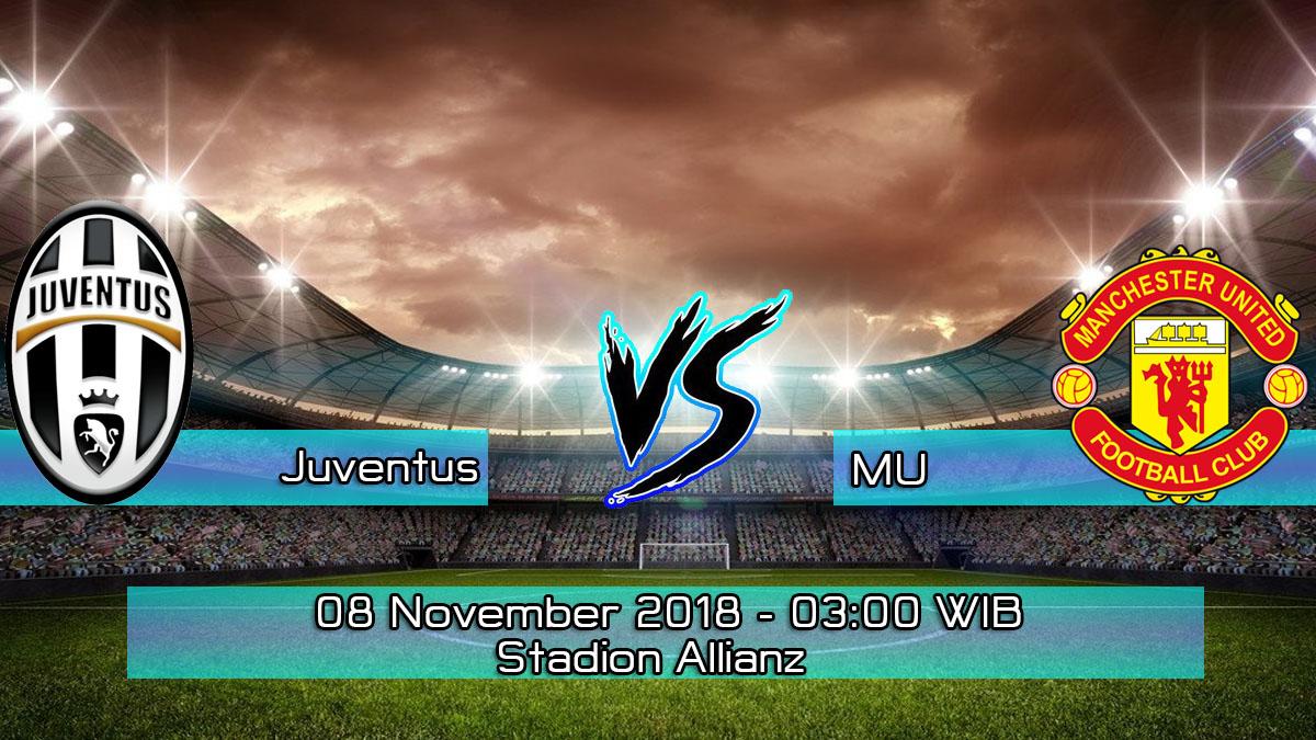 Prediksi Skor Pertandingan Juventus vs Manchester United 8 November 2018