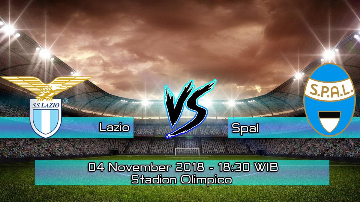 Prediksi Skor Pertandingan Lazio vs Spal 4 November 2018