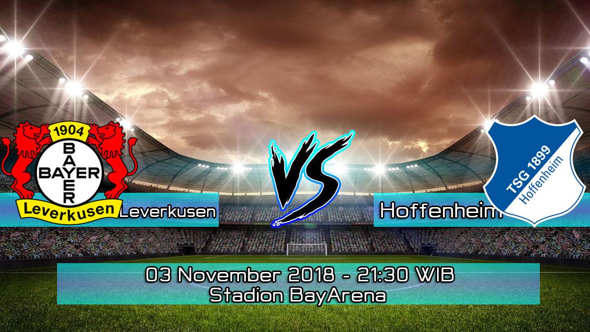 Prediksi Skor Pertandingan Leverkusen vs Hoffenheim 3 November 2018