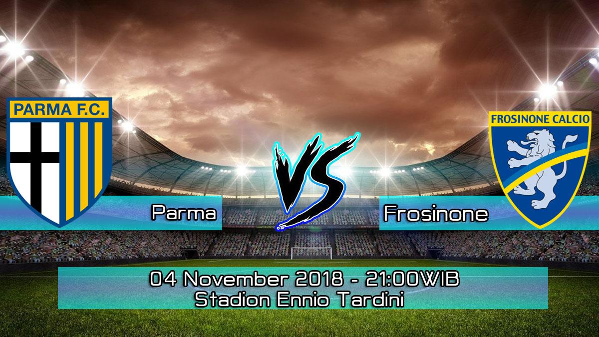 Prediksi Skor Pertandingan Parma vs Frosinone 4 November 2018