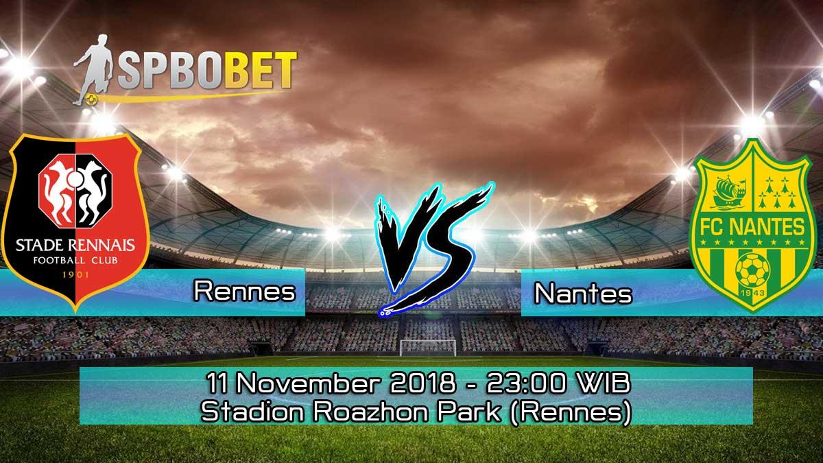 Prediksi Skor Pertandingan Rennes vs Nantes 11 November 2018