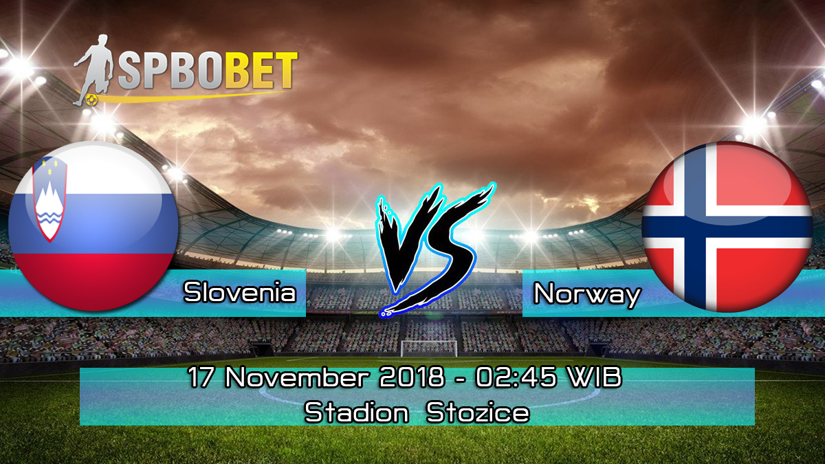 Prediksi Skor Pertandingan Slovenia vs Norway 17 November 2018