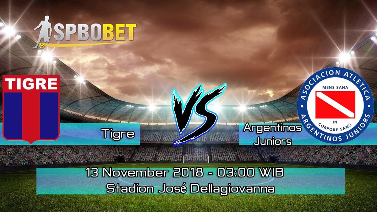 Prediksi Skor Pertandingan Tigre vs Argentinos Juniors 13 November 2018